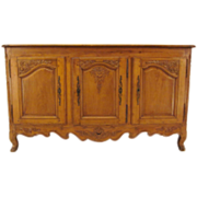 French 19th c. Louis XV Enfilade or Sideboard
