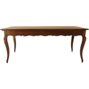 French Louis XV Style Farm Table