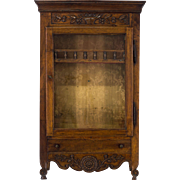 18th. C. Louis XV Verrio or Display cabinet