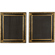 Pair of Gilt Continental Mirrors