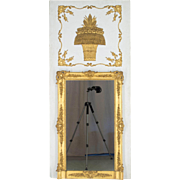 Period Directoire Trumeau or Mirror