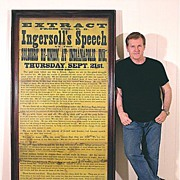 SALE Huge 1876 Broadside - A Vision of War - Ingersoll's Indianapolis Speech - Civil War - ...