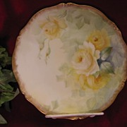 Absolutely Charming Six OF SIX Hand Painted TEA ROSES Antique Limoges France Porcelain Fine Ar