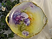 ABSOLUTELY STUNNING PANSIES ~ Exceptional Victorian Period Heirloom Antique Limoges France Hand Painted Floral Fine Art Cake Plate or Fabulous Serving Tray Jean Pouyat JPL circa 1900
