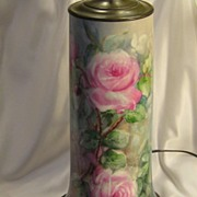 Absolutely Magnificent Limoges France Hand Painted Roses Turn-of-the-Century VICTORIAN MASTERP