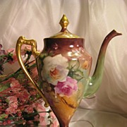 "SOLD PRECIOUS Limoges France ""Finest Chocolate Pot Mold"" MASTERPIECE ~ Breathtaking"