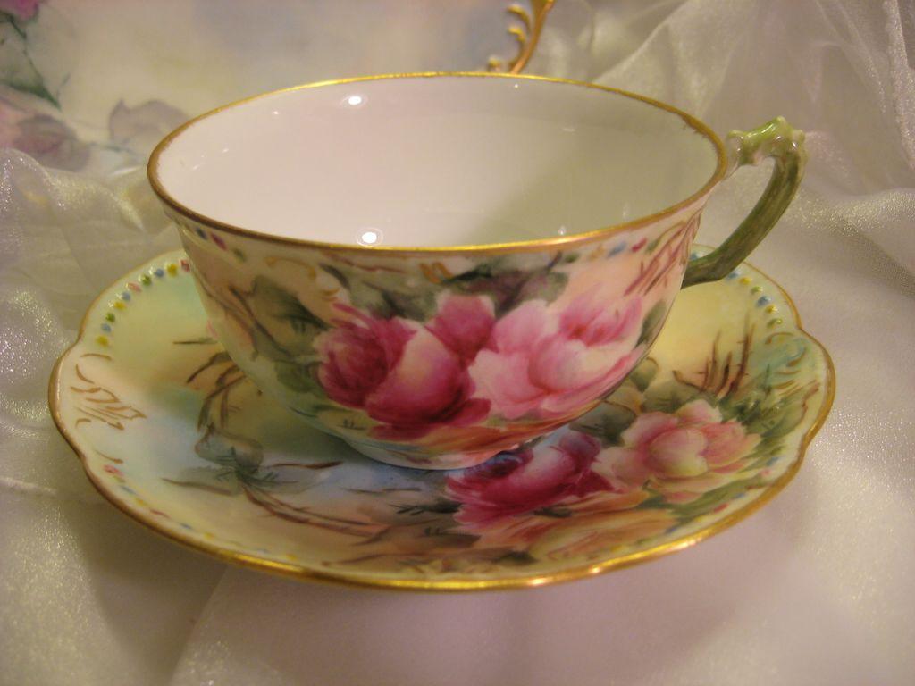 vintage teacup tea cup-#35