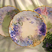 Hand painted FLORALS & JEWELS &quot; ~ Ten Absolutely Breathtaking and Beautifully Executed A