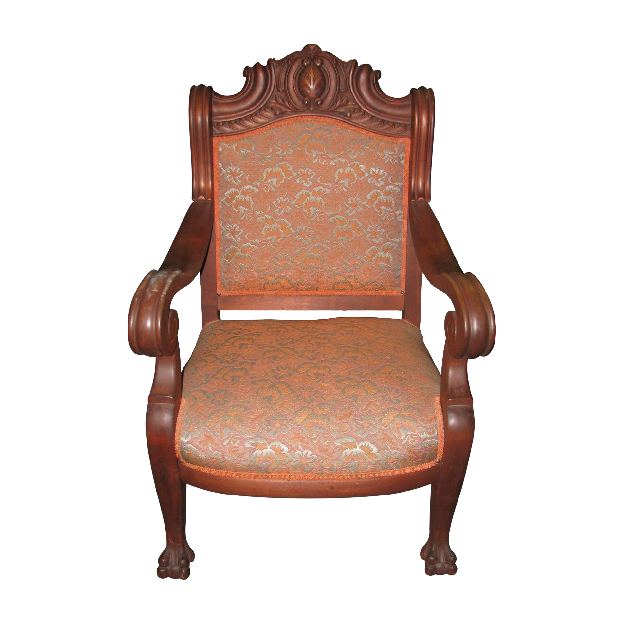 Antique+Wooden+Chairs+Late+1800 Late 1800s carved wood chair with ...