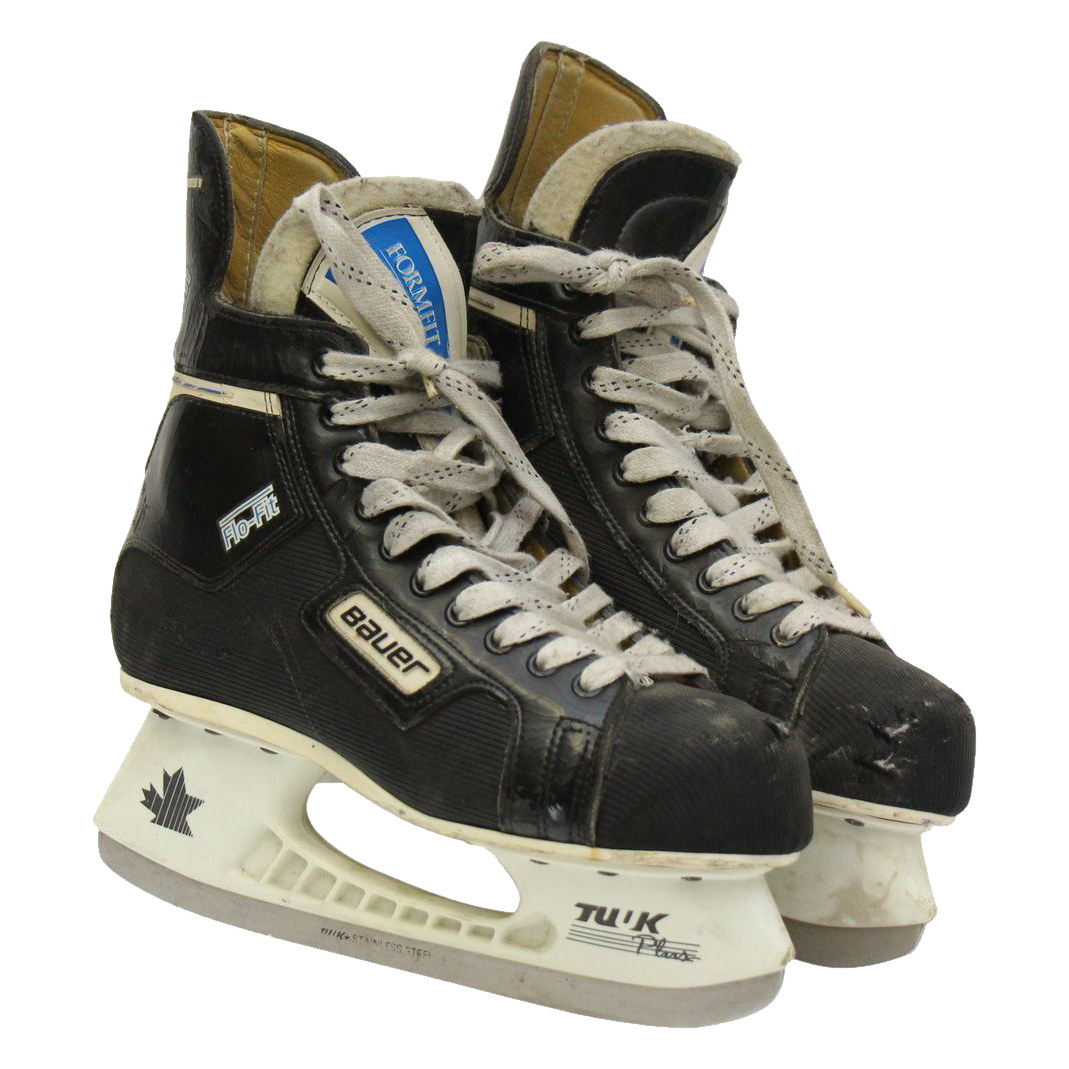 Vintage Bauer hockey ice skates from oldegoodthings on ...