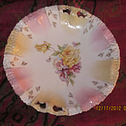 Unmarked R S Prussia Cake Plate 11&quot;