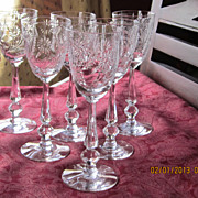 Elegant Sherry 3 Oz Stemware  Set 6 Pcs