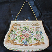 Pettipoint & Mother of Pearl  Bag