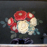Victorian Yarn Work Shadowbox