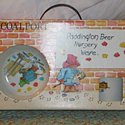 Coalport Paddington Bear Nursery Ware NIB