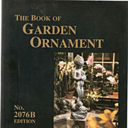 The Book of Garden Ornament No. 2076a [Paperback] Kenneth Lynch (Author)