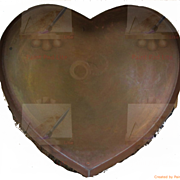 Heart Shaped Copper Tray