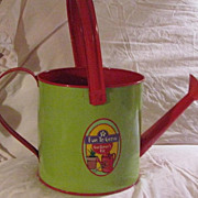 1950's Litho & Enamel Painted Watering Can