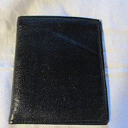 Unbranded Men's Black Calf Wallet