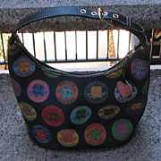 Vintage Bucket Handbag Dooney & Burke