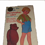 Queen Holden Christopher Robin & Winnie The Pooh Paper Dolls 1985