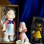 Campbell Kid premium doll and assortment of 50's items