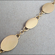 Vintage Signed 12K Gold Filled Bracelet, Le Stage