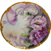 Beautiful Hand Painted Haviland Limoges Plate Artist Signed