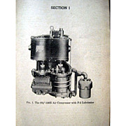 Railroadiana - Santa Fe Instruction for Air Brake Equipment