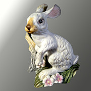 Boehm Snowshoe Hare Porcelain Figure