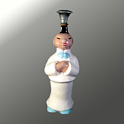 Vintage China Chinese Man Laundry Sprinkler