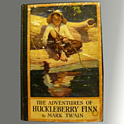 1923 Adventures of Huckleberry Finn - Mark Twain - Illustrated