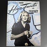 Home Favorites in Crochet - 1944 Clark's Pattern Booklet