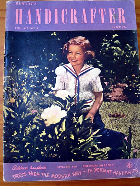 Bernat's Handicrafter - 1941 Vintage Craft Magazine