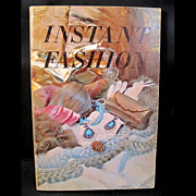 Instant Fashion 1969 Vintage Book