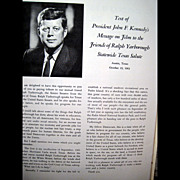 Texas Salute to United States Senator Ralph W. Yarborough -- Amazing Political Ephemera