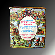 Butt'ry Shelf Almanac - by Mary Mason Illustrated by Tasha Tudor - First Edition