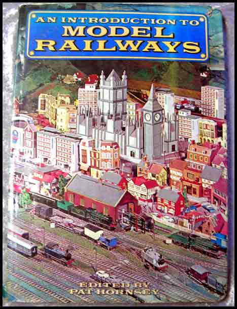 An Introduction To Model Railways -- Oversize Vintage Book