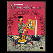Dennison Parties With Purpose - 1949 Craft Book
