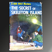 A Ken Holt Mystery -- The Secret Of Skeleton Island -- First in Vintage Mystery Series Book Wi