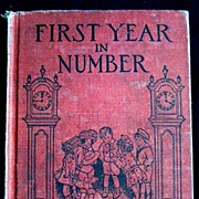 First Year In Number -- Elementary Math Book