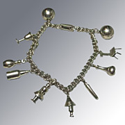 Charm Bracelet with 10 Charms