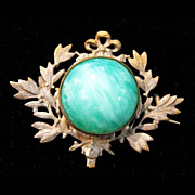 Victorian Cabochon Brooch