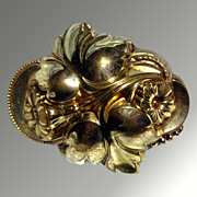 Victorian Floral Brooch