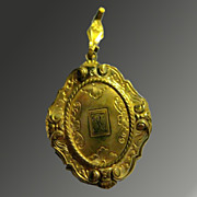 Vintage Double Locket by PS Company