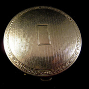 Exceptional Vintage Compact by Richard Hudnut for Deauville