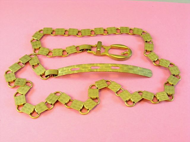 Vintage Gold-tone Link Belt