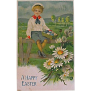 1908 Easter Postcard