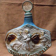 Beam Decanter Commemorative Decanter: Stone Mountain Circa 1974
