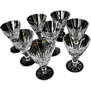 Waterford Eileen Water Goblets -set of 8 Circa 1968